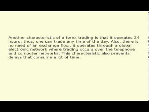 Forex basic knowledge